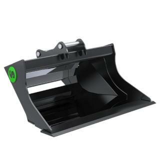 Steelwrist Planeringsskopa GB3 Lehnoff HS03 120l 1000mm