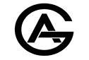 GA mörkgrå logotyp